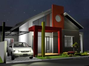 Renovasi muka rumah
