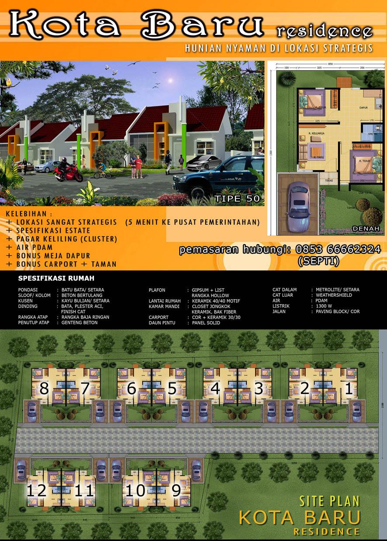 Brosur Kotabaru Residence