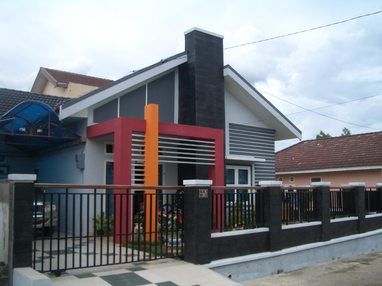 renovasi tampak muka modern minimalis multidesain arsitek