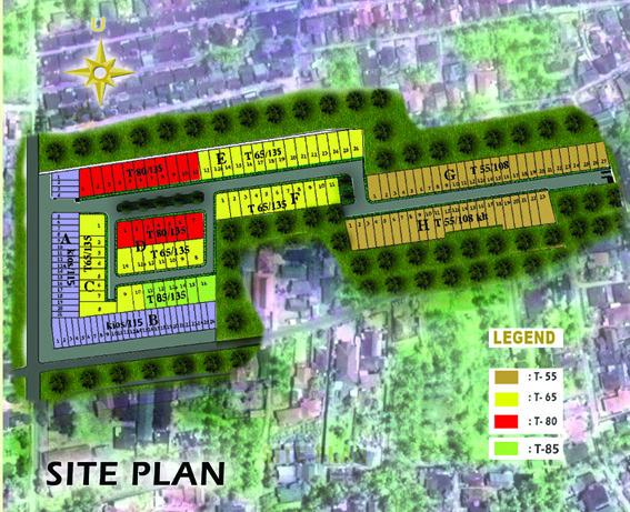 Site Plan Parma Residence