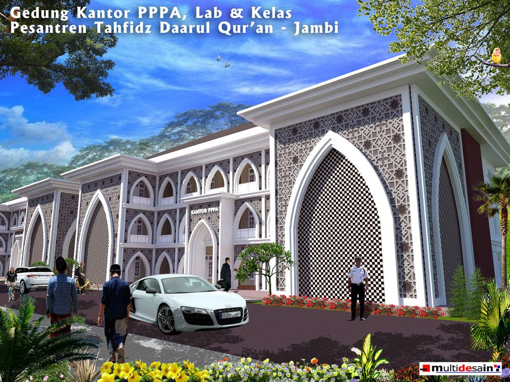 Kantor PPPA Kelas Daarul Quran Jambi
