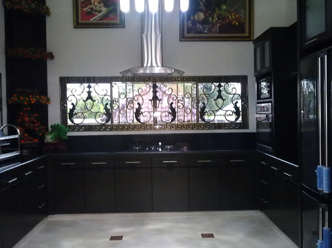 Dapur dan Kitchen Set