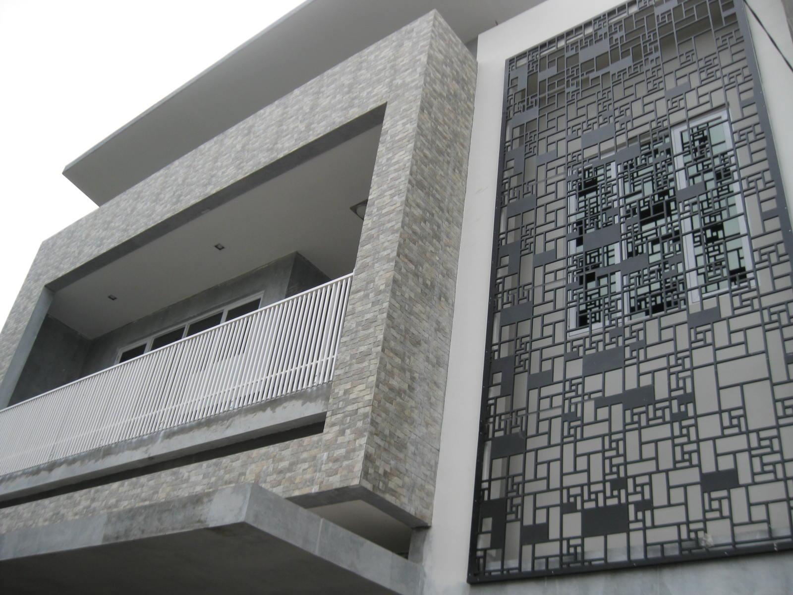 Mozaik Tampak Depan