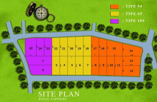 Site Plan Royal Sapphire