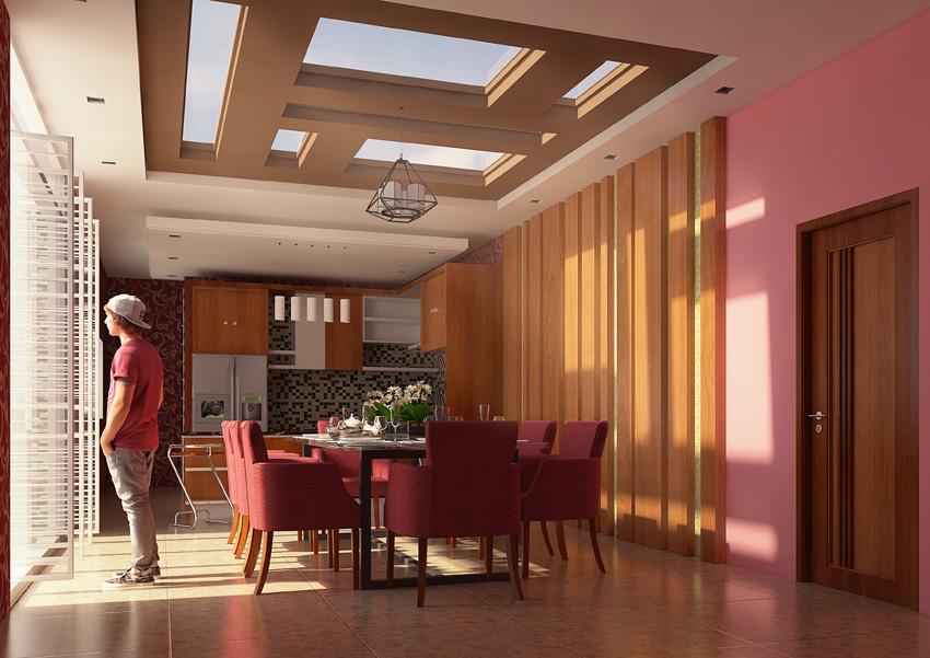 Desain Interior Ruang Makan dan Pantry