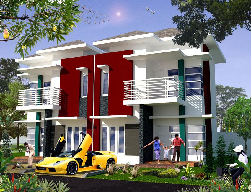 Rumah Tipe 85 (2 lantai)