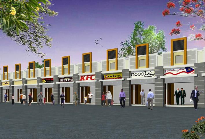 Desain Kios Monaco Residence