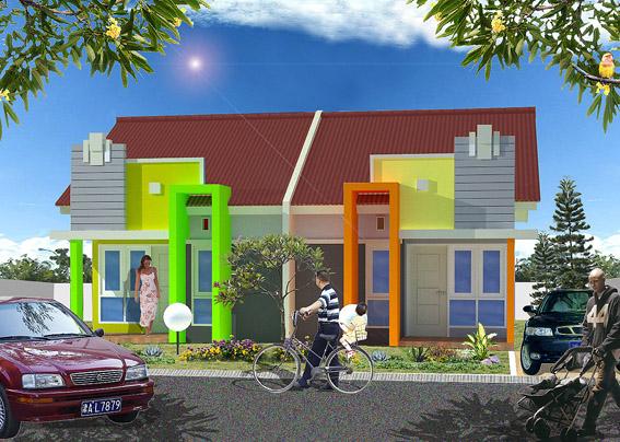 Rumah Tipe 50 dengan Desain Minimalis