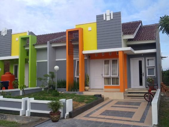 Progress 100% Pembangunan Rumah Tipe 50