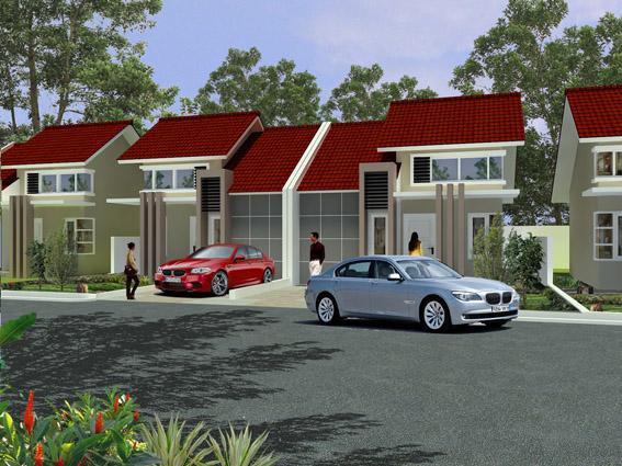 Desain Rumah Tipe 45 dan 55