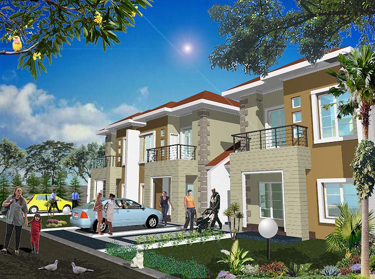 Desain Rumah Tipe 105