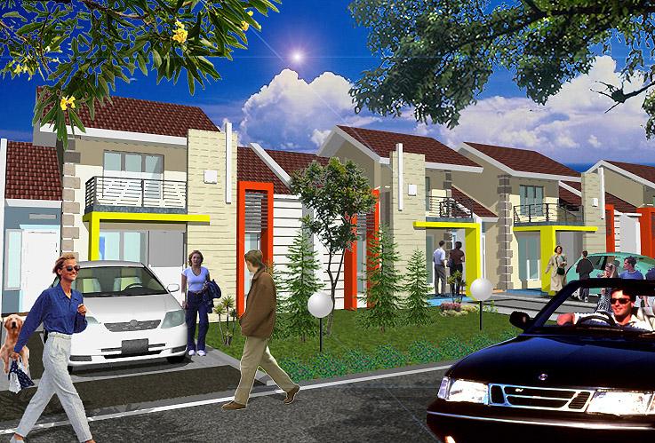 Desain Rumah Tipe 75