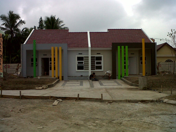 Proses Pembangunan Rumah Contoh