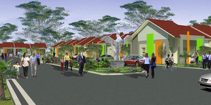 Desain Suasana Boulevard