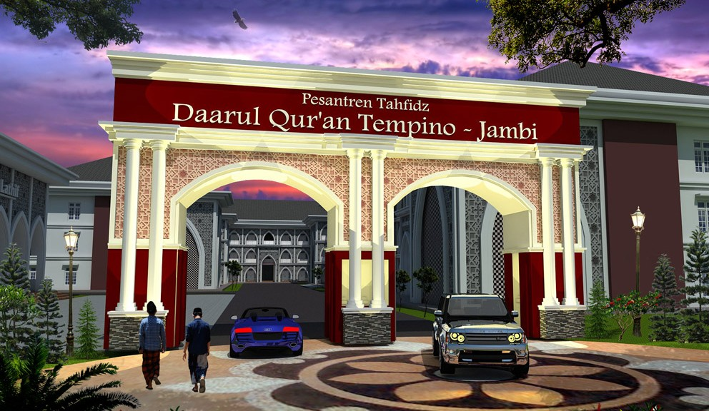Desain Masjid Multidesain Arsitek