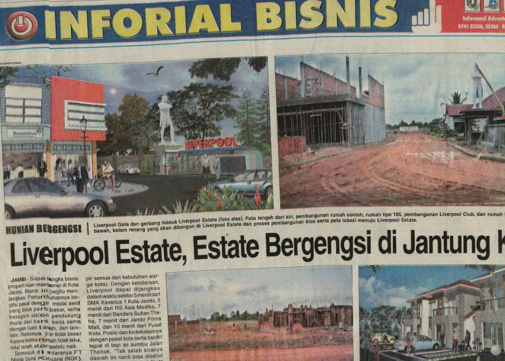 Inforial Bisnis Jambi Independent 2008