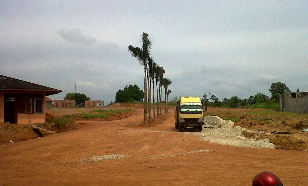 Pembuatan Boulevard