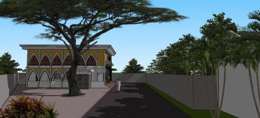 View 17:  Fasilita masjid yang cukup untuk menampung warga dan masyarakat sekitar