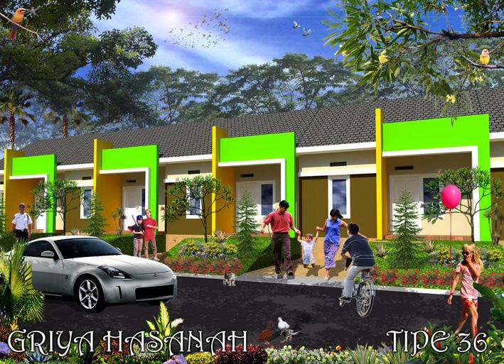 Desain Tipe 36 FLPP Griya Hasanah Mojopurno Madiun