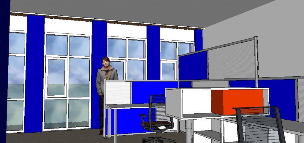 View 4 : Ruang Pelayanan dan Administrasi