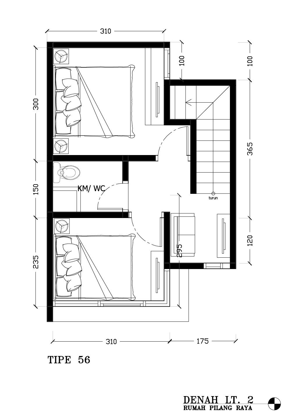Image Result For Denah Apartemen Taman
