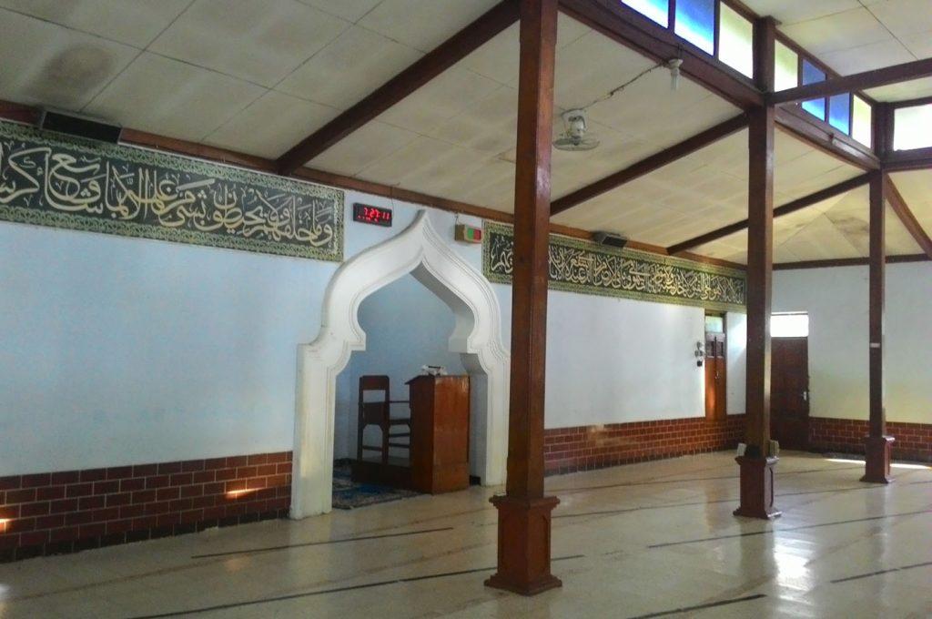 Kondisi Mihrab Masjid saat ini