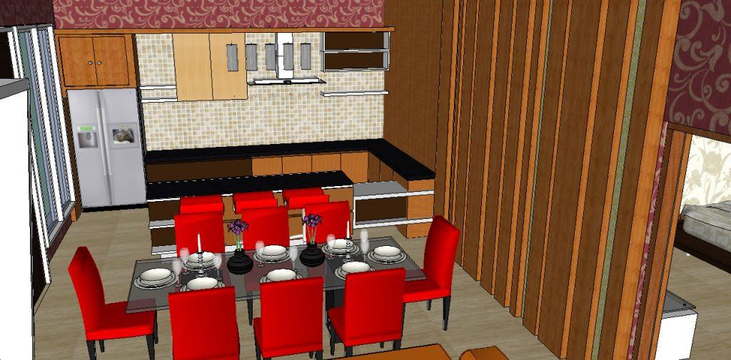 View Pantry dan Ruang Makan
