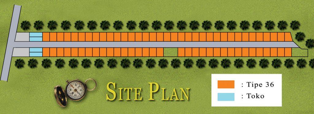Site Plan Perumahan FLPP Mardiasri Regency Ngawi