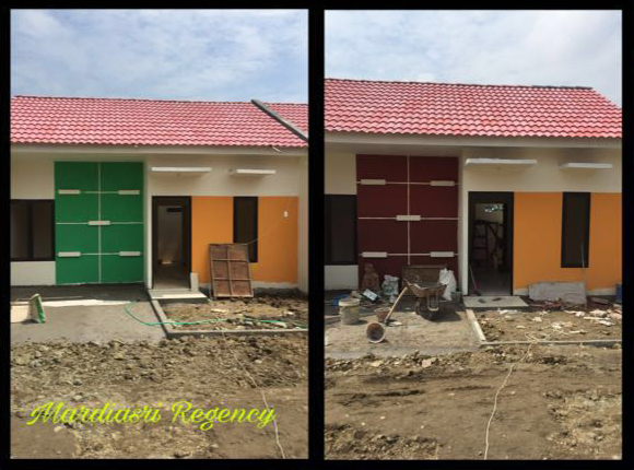 Hasil Jadi Rumah Contoh Perumahan FLPP Mardiasri Regency Ngawi