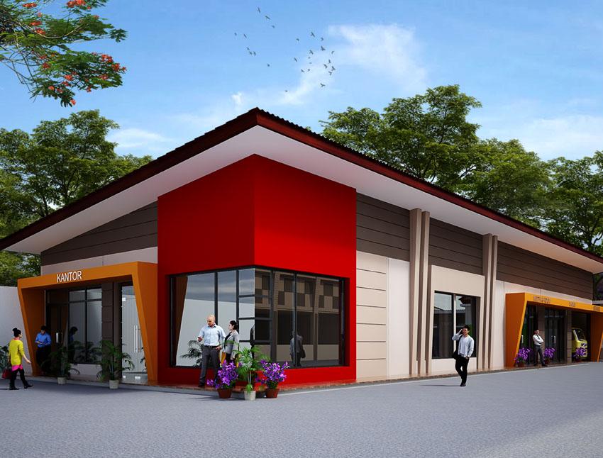 Desain Kantor Pabrik