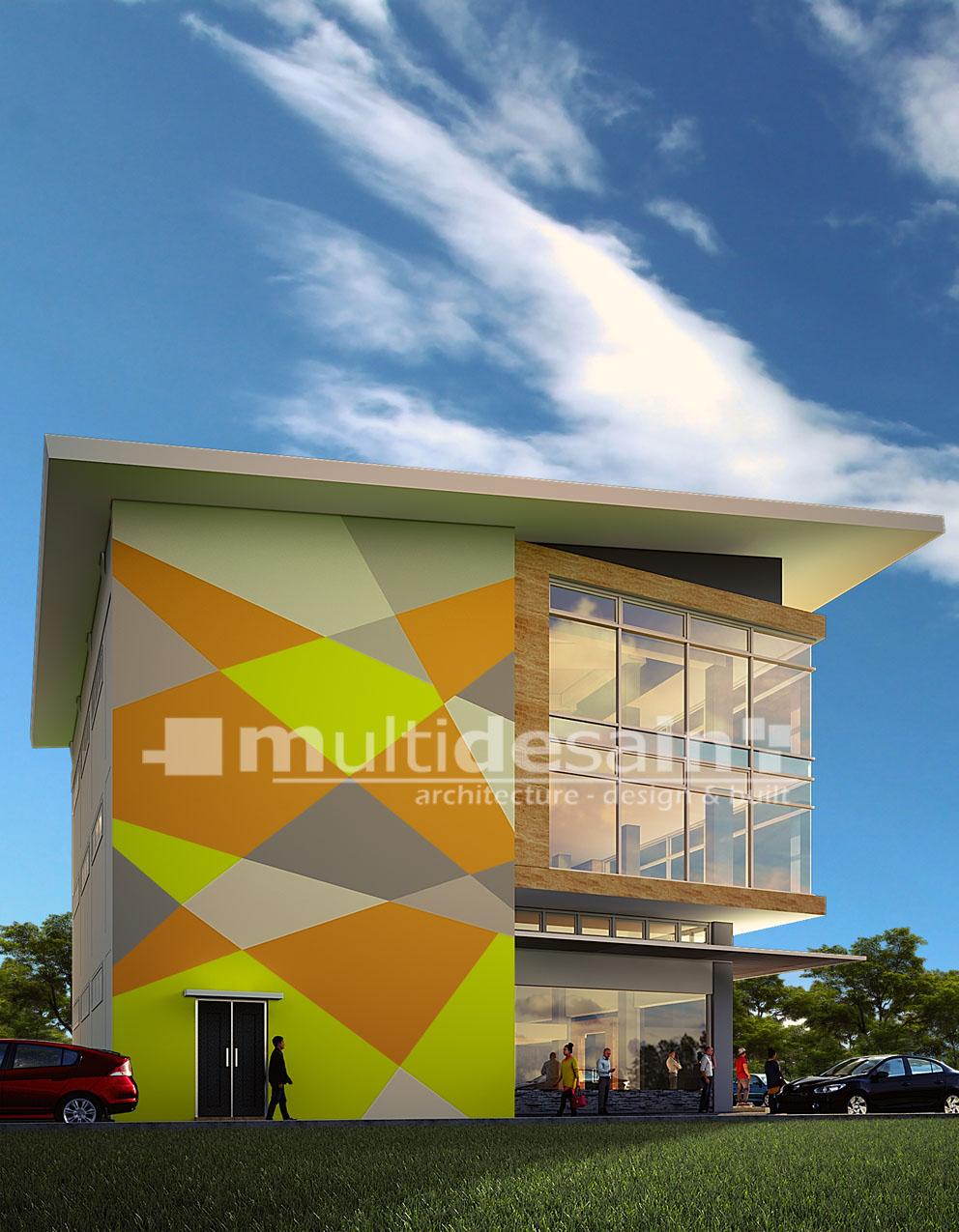 desain supermarket multidesain arsitek
