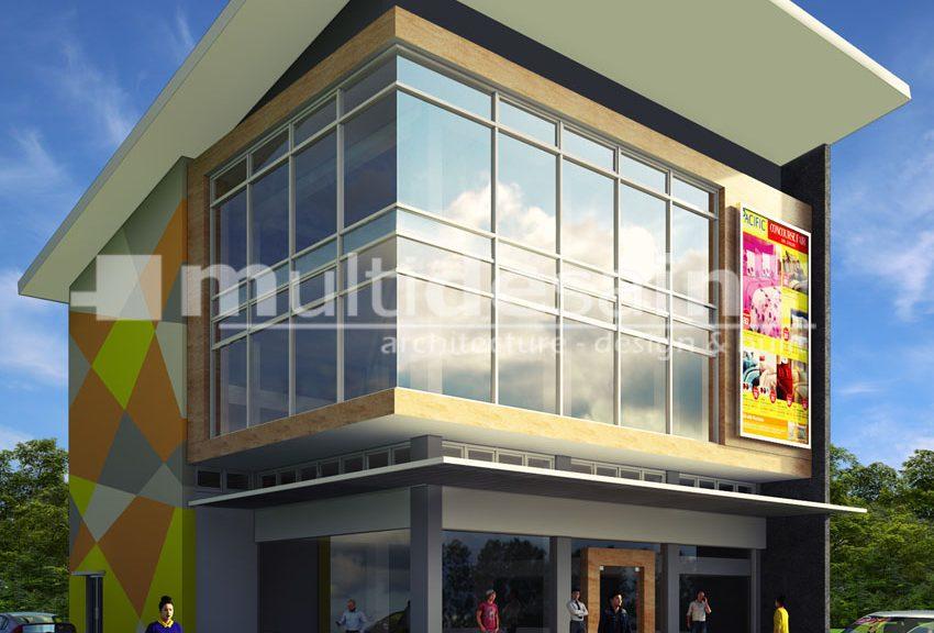 Desain Toko Madiun Multidesain Arsitek