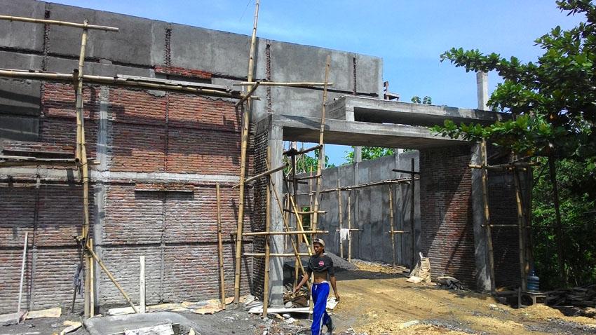 Progress Pembangunan Gedung Serbaguna per 1 Nov 2016