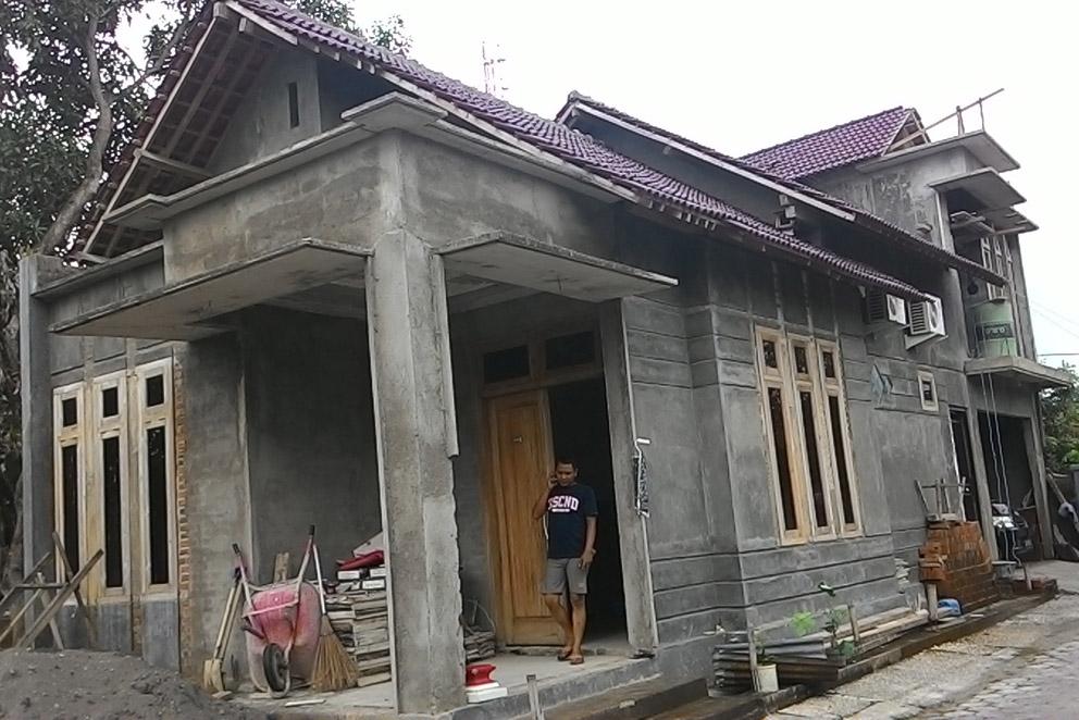 Kondisi eksisting rumah sebelum didesain ulang oleh Multi Desain Arsitek