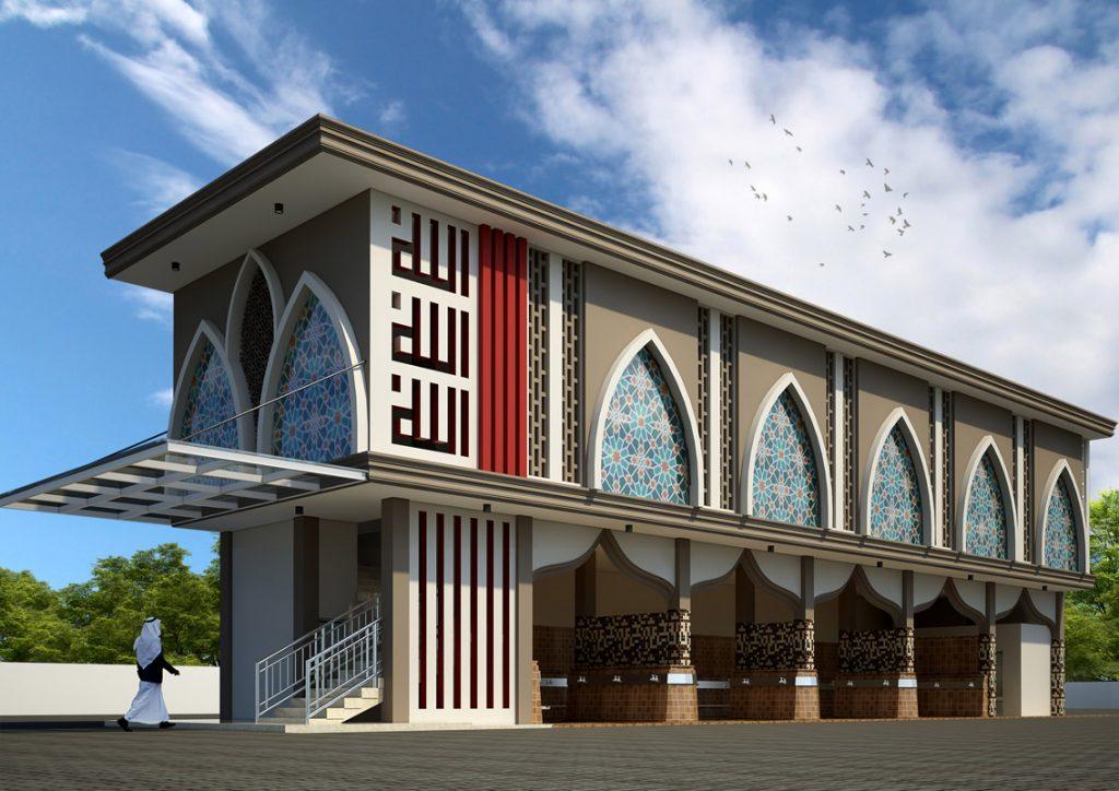 Gedung ini bersebelahan dengan masjid. Bagian atas menjadi Aula atau Gedung Pertemuan. Bagian bawah tempat wudhu para jemaah