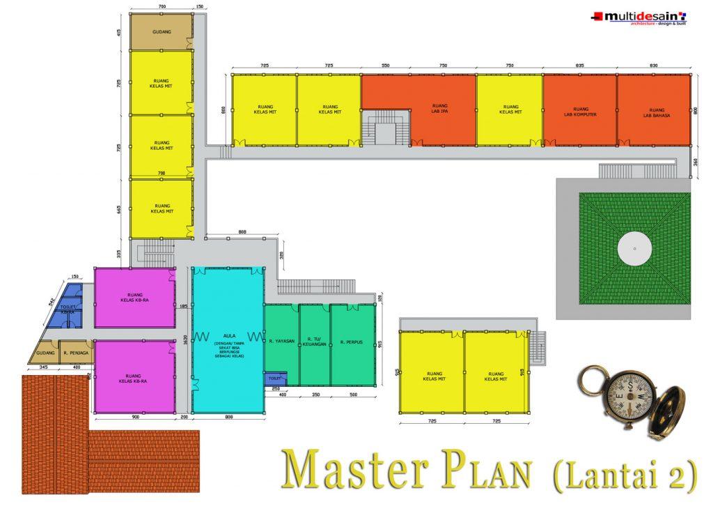 Master Plan Lt 2 MIT Nurul Amal Magetan