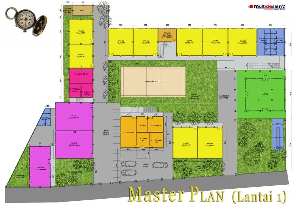 Master Plan Lt 1 MIT Nurul Amal Magetan