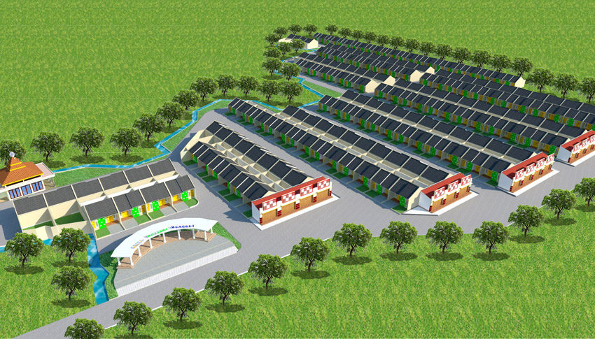 Master Plan Perumahan Villa Mutiara Munggut