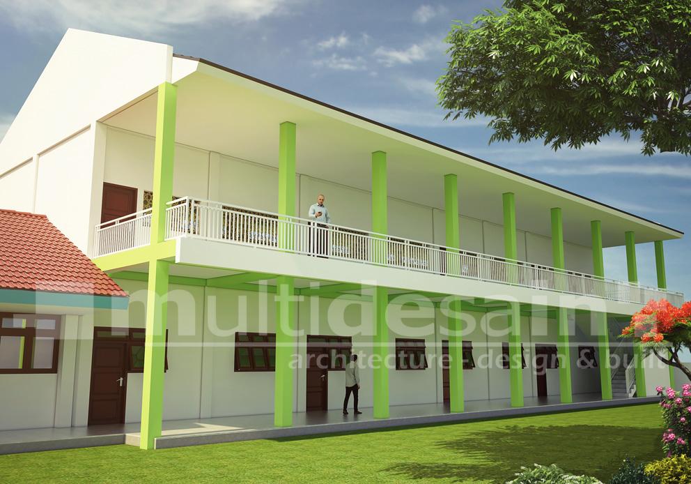 Desain Madrasah Multidesain Arsitek