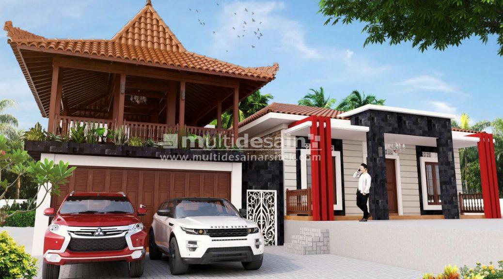 Desain Rumah Ruko Minimalis 1 Lantai rumah joglo modern bpk alvin multidesain arsitek