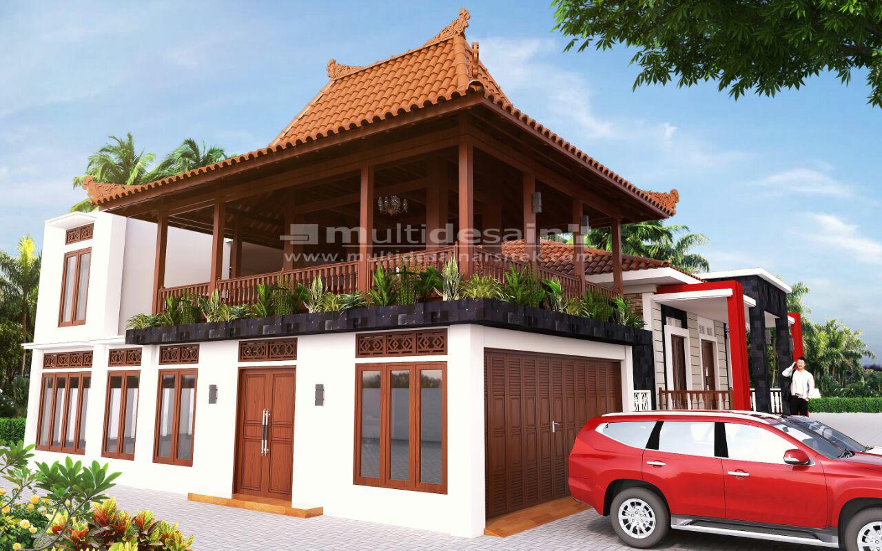 Rumah Joglo Modern Bpk Alvin Multidesain Arsitek