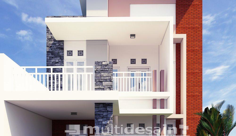 Rumah Minimalis 2 Lantai Void desain rumah tinggal multidesain arsitek