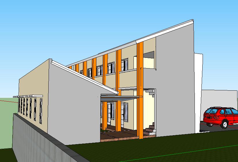 Thiết kế nội trú trong khu đất hẹp Sơn nhà tối giản
