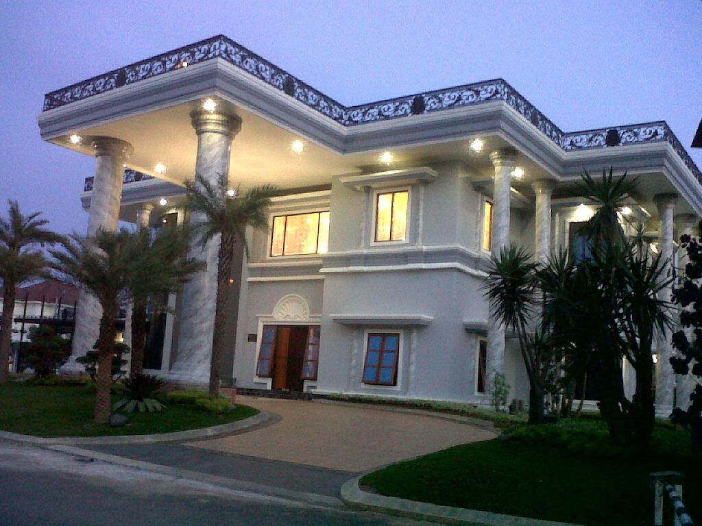 Rumah Mewah Bergaya Mediteran MultiDesain Arsitek