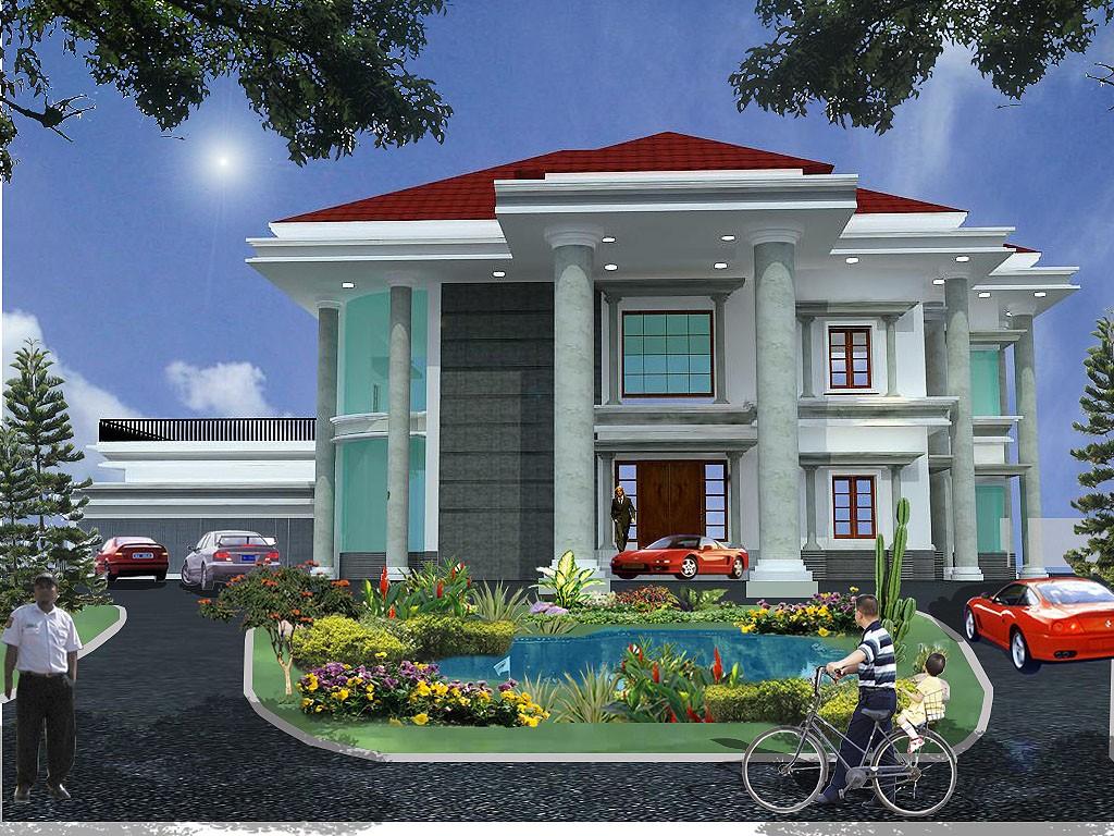 Rumah Minimalis 2 Lantai Tampak Depan Dan Samping  Desain Rumah Minimalis