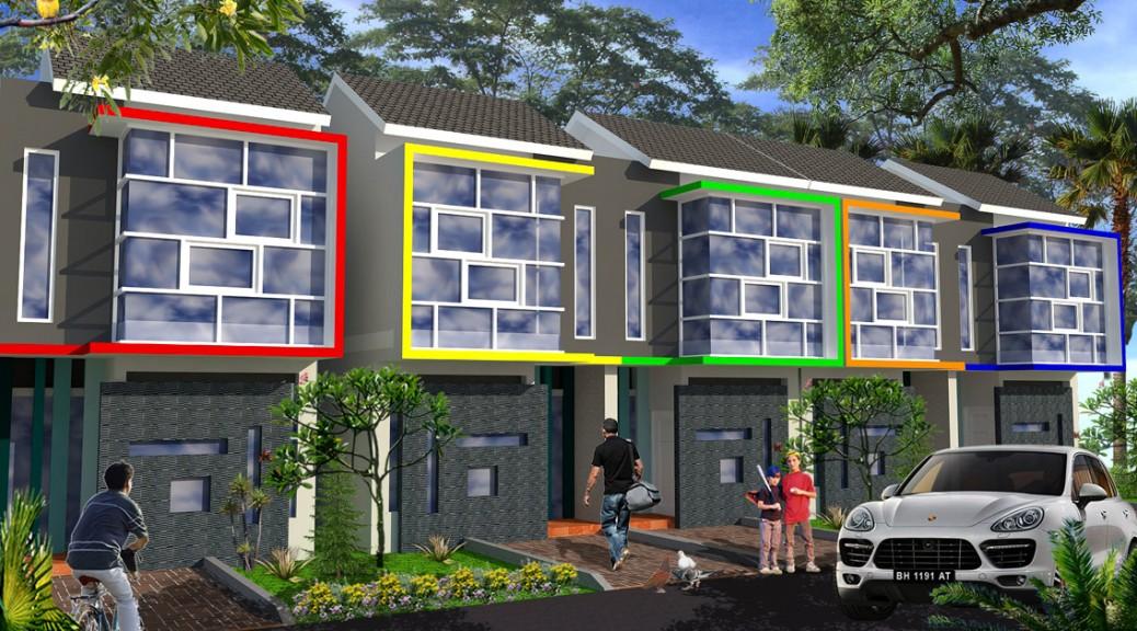 Desain Minimalis Rumah Tipe 56 2 Lantai